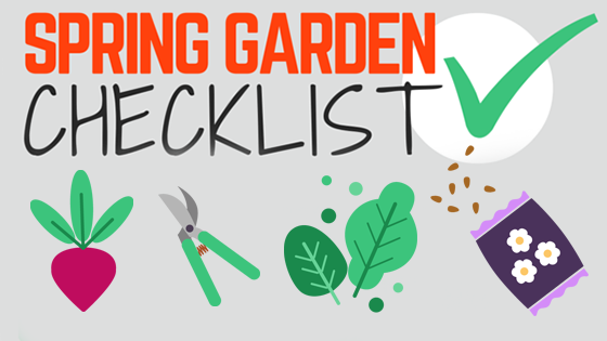 Spring Garden Checklist Header