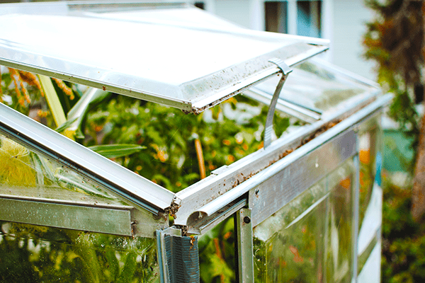 Use a cold frame. How to grow tons of vegetables in small spaces + small gardens