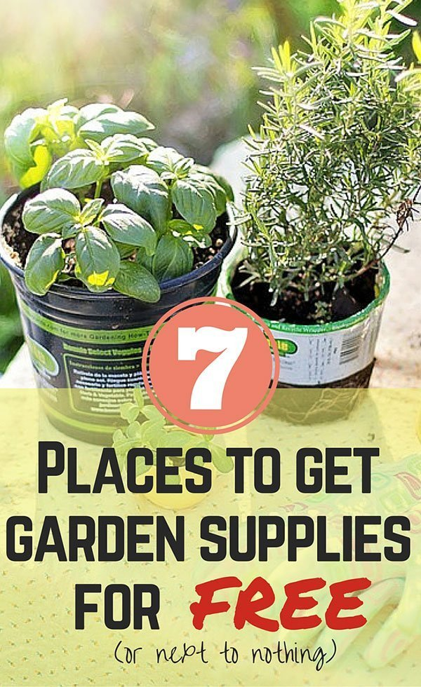 Small Balcony Garden Supplies You Can Get For Free (or Next To Nothing)